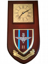 2 bn Parachute Regiment Wall Plaque Clock